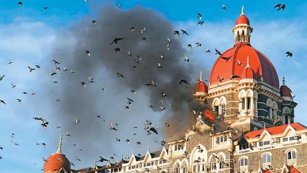 taj hotel attacked