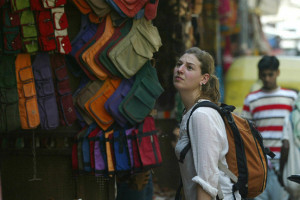 foreigners travelling in india
