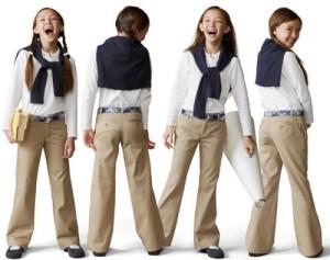 school uniforms as fashion