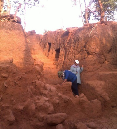 Chandore excavation