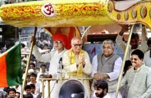 advani's rath yatra