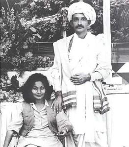 Bhanu Athaiya and Ben Kingsley
