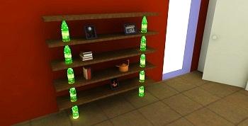 Arjun Rathi Champagne Bottle Shelves