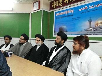 Press conference at Patrakar Sangh