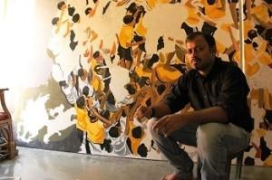 Ratnadeep in his studio