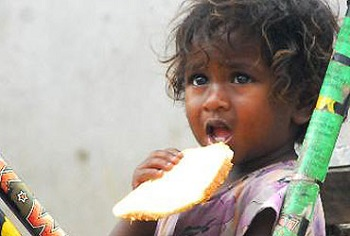 hungry in India
