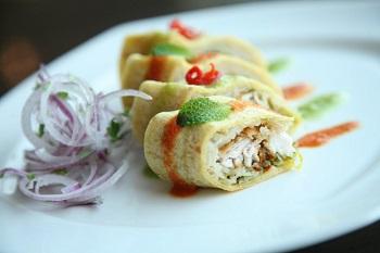 fish sushi roll