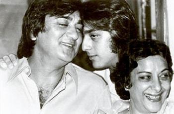 Sunil, Sanjay, Nargis
