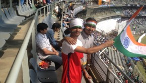Sachin's last match and empty seats
