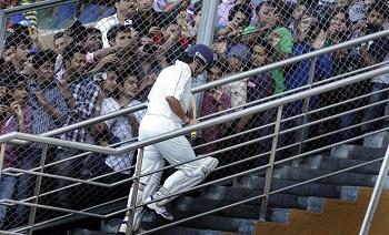 Sachin's last match