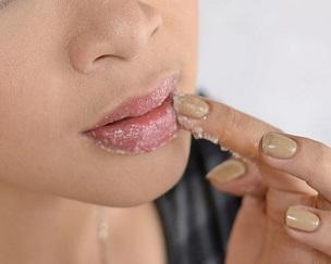 exfoliate your lips