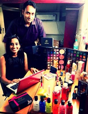 Vineeta and Kaushik