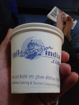 coffee on the train