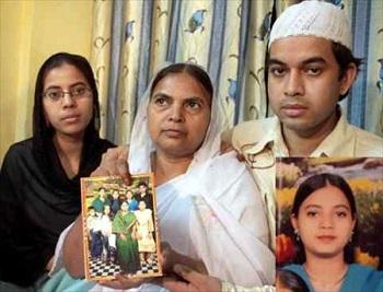 Ishrat's family