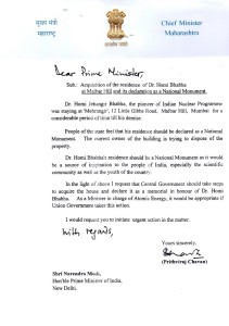 CM's Letter to PM