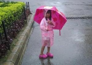 Rain gear for child