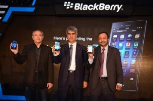 Sunil Lalvani, MD, BlackBerry India, Michael Adnani, VP-Retail & Head of...
