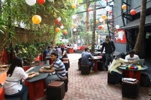 Prithvi Theatre cafe
