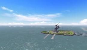 Shivaji memorial in the Arabian Sea