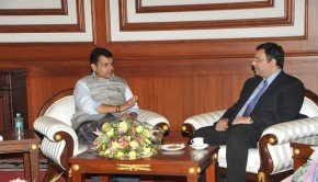Cyrus Mistry Meeting with Maharashtra CM