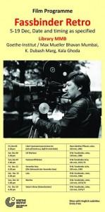 Fassbinder film festival