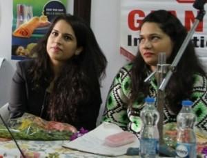 Shreya and Kasturi Poddar