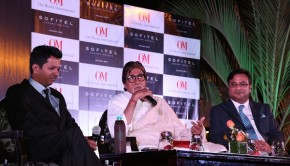 Amitabh Bachchan at the launch of 'I Hate Bollywood'