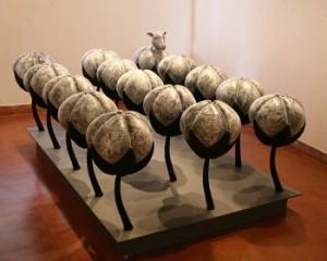 Cotton Field by artist Subodh kerkar