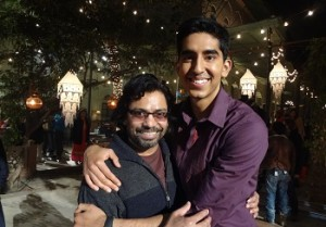 Longinus Fernandes and Dev Patel