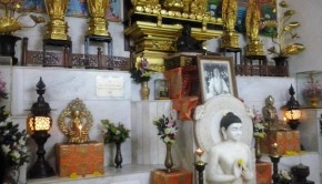 Buddhist temple at Worli