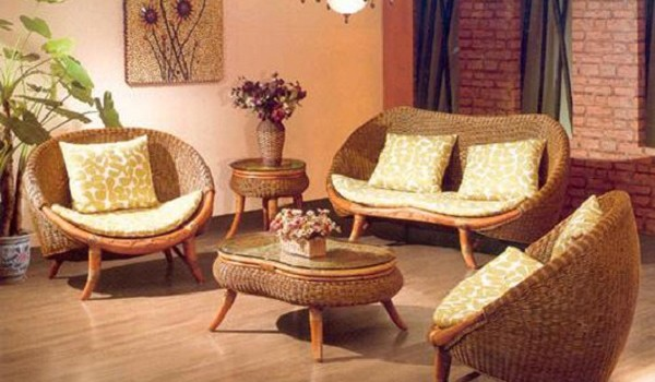The metrognome 4 ways to beautify your home for Cane furniture for living room