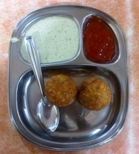Green Peas Pattice_Kolhapuri Chivda