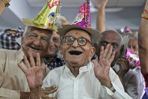 Be happy in your old age