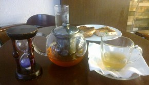 Mint Tea n Bun Maska_Tea Villa