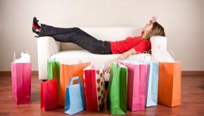 Identifying a shopping addict