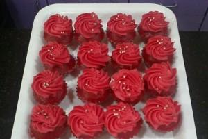Red Velvet Mini Cupcakes, LSD