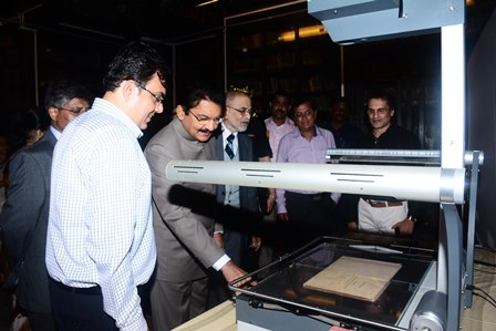 Digitising the Asiatic Library