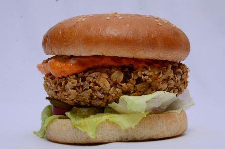 Indian Spiced Oats & Moong Dal Burger_Meltz Treatz