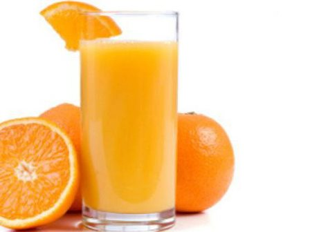 Orange juice for dengue