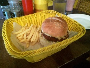 Veg Parmaggiano Burger_Cafe Free India