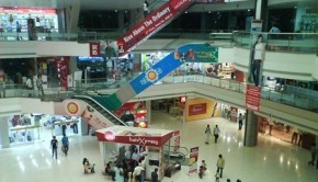 Mall space becomes cheaper as footfalls are lower
