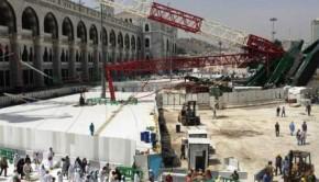 Mecca crane tragedy kills over 100 in Saudi Arabia