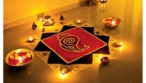 Preparing the home for Diwali