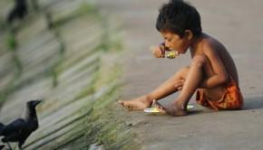 Underweight children in Mumbai's slums